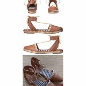 Nine West wrap shoes! Size 8.5